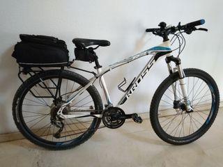 """Bicicleta KROSS aluminio 17"""""""