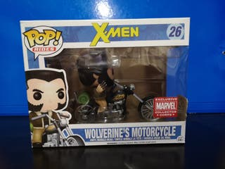 funko pop wolverine motorcycle lobezno ridea