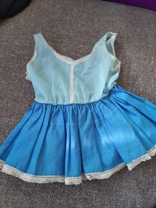 vestido muñeca años 60