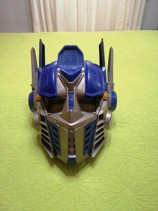 Mascara de Optimus Prime (Transformes)