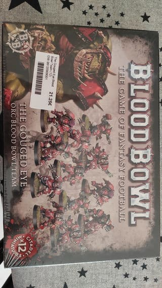 Equipo nuevo blood bowl orcos games workshop