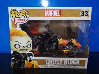 funko pop rides ghost rider