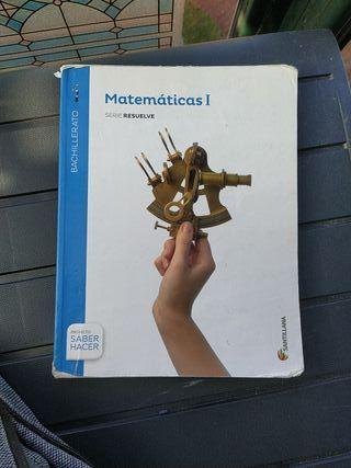 Libro matemáticas 1° Bach Santillana