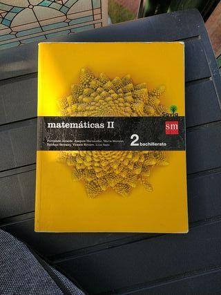 libro matemáticas 2° bach