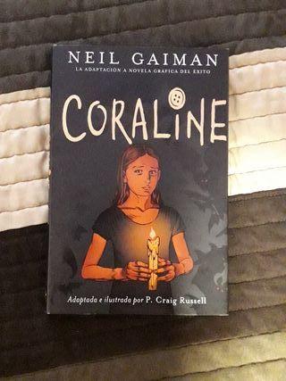 Coraline Novela Gráfica