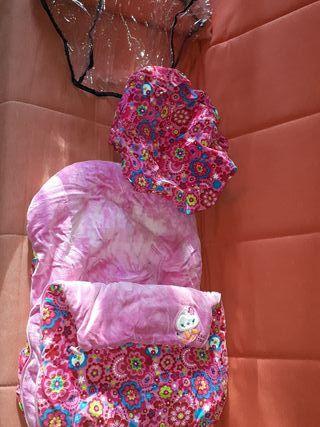 saco, capota y plástico lluvia maxicosi