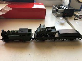 Trenes H0 época modelismo