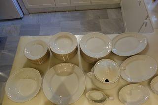 Vajilla completa porcelana de Silesia