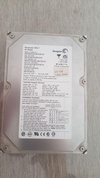 2 Discos duro 80Gb
