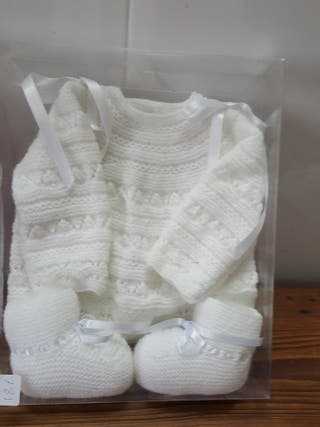 jersey recien nacido y botitas