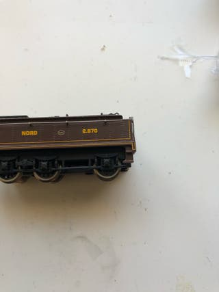 Tender h0 de máquina locomotora