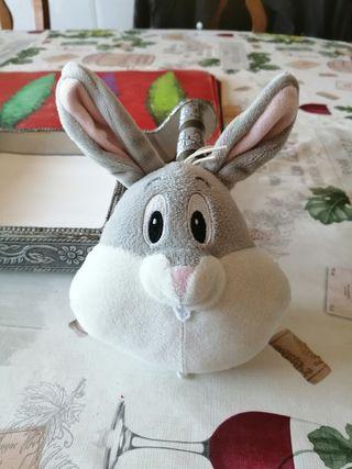 Peluche/sonajero bebé Bugs Bunny Nuevo SOLO 1€!!