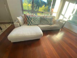 """Sofa en """"L"""" Temas V con 2 mudas de tapiceria"""