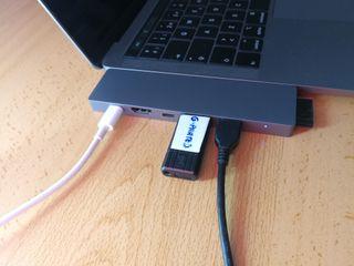 Hub Usb *8 en 1* Macbook pro