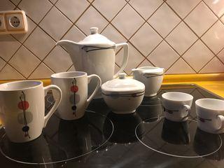 Conjunto de cafè.