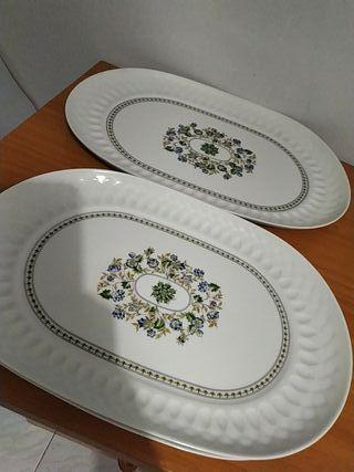 Sopera más bandejas Porcelana Irabia España