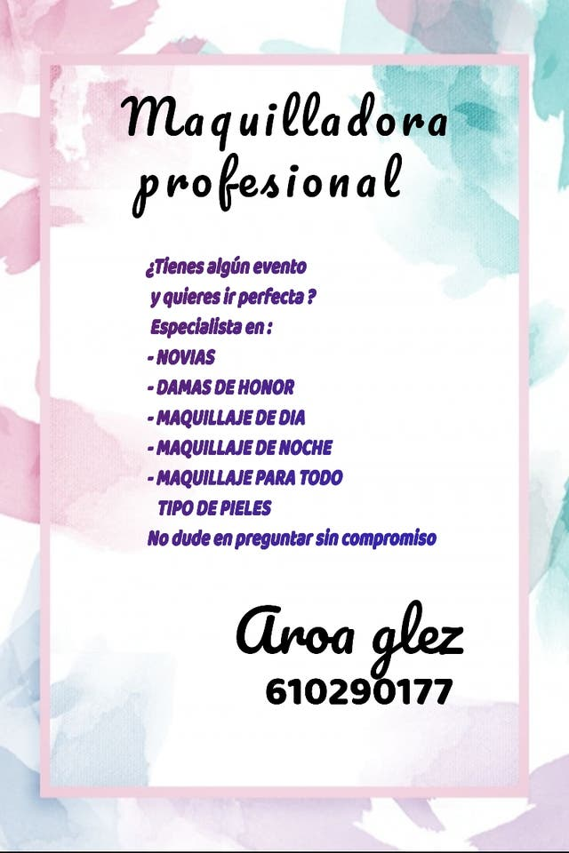 Maquilladora en Huelva