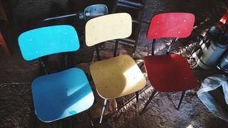 sillas retro vintage - cadires retro vintage