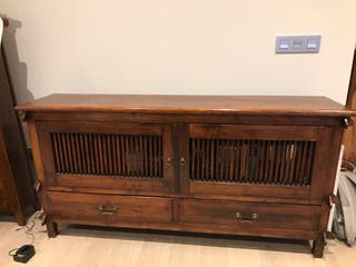 Mueble aparador colonial madera tropical