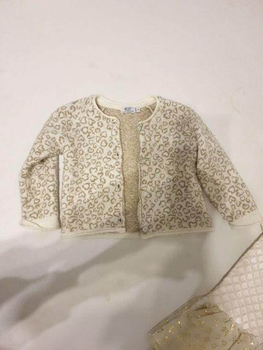 Vestido y jersey niña 12/18 meses