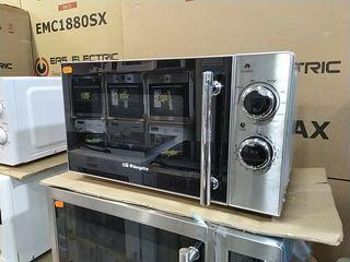 microondas con grill inox