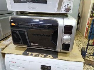 microondas grill inox