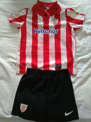 equipacion niño Athletic club Bilbao