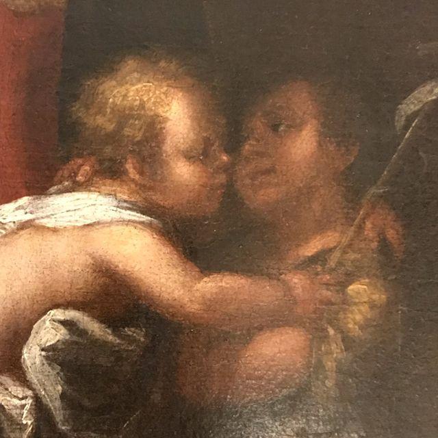 Cuadro Antiguo Siglo XVII