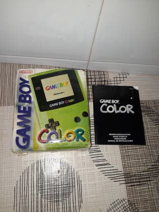 Nintendo Gameboy color caja