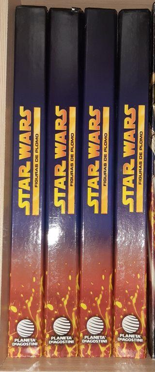 fasciculos star wars figuras de plomo