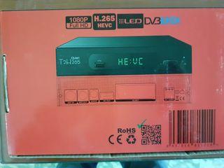 Decodificador grabador de tv.