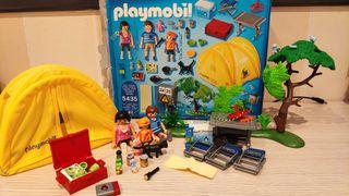 Playmobil vacaciones. Tienda campaña familiar 5435