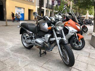BMW R1100R 28.000 km bicolor plata-negro