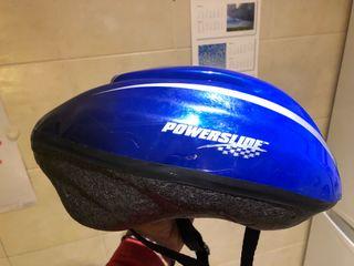 Casco Bicicleta Ajustable Azul