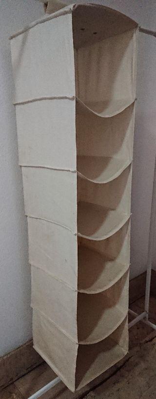 ordenador colgador ropa perchas ordenación armario