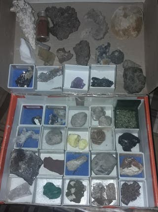antigüedades minerales