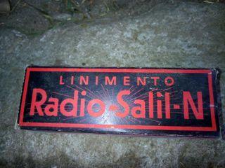antiguo linimento radio salil