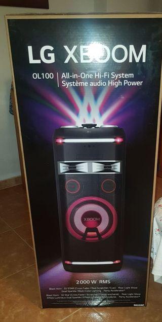 Altavoz de alta potencia LG XBOOM 2000W