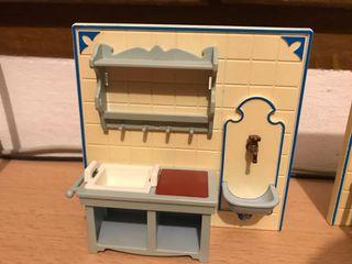 Playmobil fregadero cocina casa victoriana