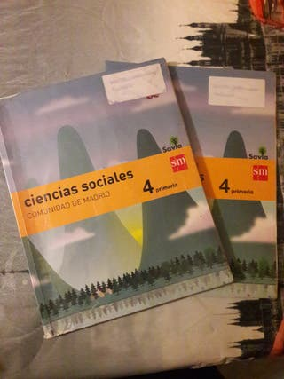 Libro Ciencias Sociales, 4 primaria