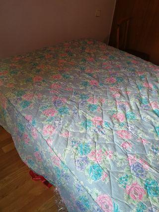 edredon cama de 1,35