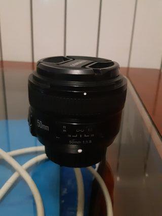 Objetivo 50mm para Nikon