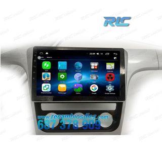 RADIO NAVEGADOR GPS DVD 10.2 ANDROID 6,0 VW PASSA