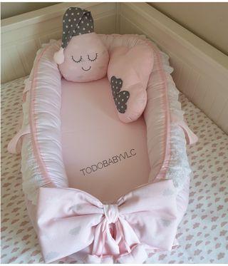 Nido reductor babynest personalizado.