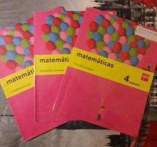 Libros Matematicas, 4 primaria