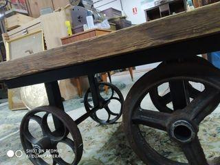 Mesa vagoneta industrial