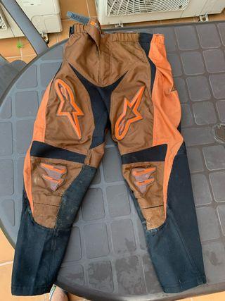 Pantalón enduro niño