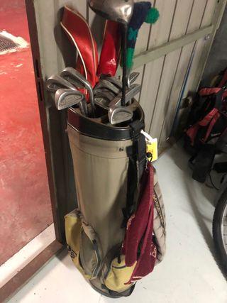 Bolsa de palos de golf completa