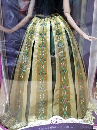 Anna Frozen Disney Store de Edición Limitada