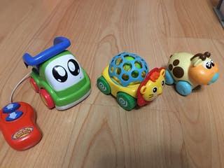 Pack 3 coches Bebe